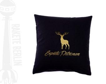 cushion cover  'Expecto Patronum' - deer
