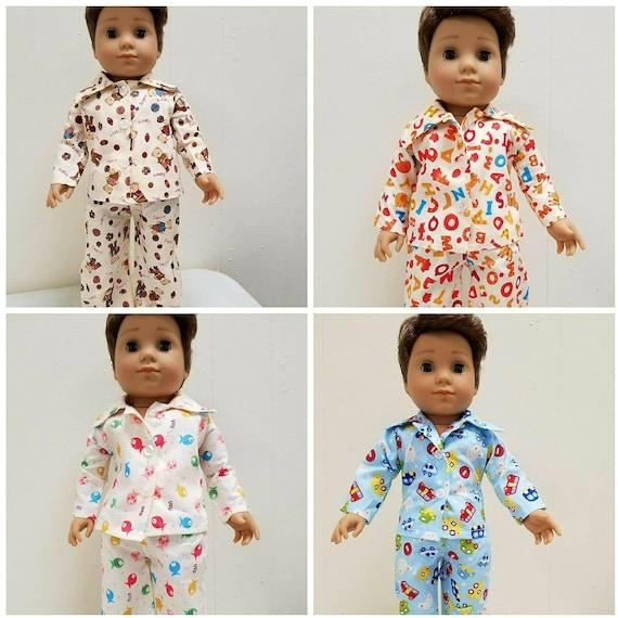 PJ'S for Logan. 18 Inch Doll American Handmade