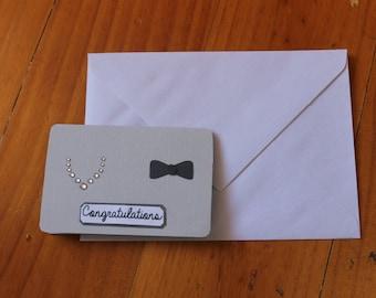 Congratulations! Wedding Card.