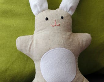 Soft bunny toy