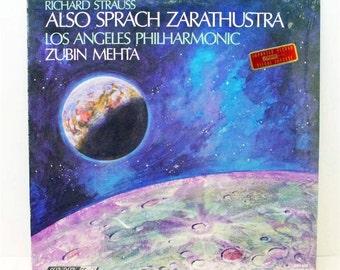 Also Sprach Zarathustra Richard Strauss LP 1968 London ffrr CS6609 Import Vinyl Record Sealed