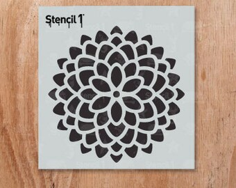 "Mum Stencil- Reusable Craft & DIY Stencils- S1_PA_45_S -Small-(5.75""x6"")- By Stencil1"