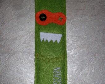 bookmarks, guys, monsters, gift, Christmas, birthday, felt