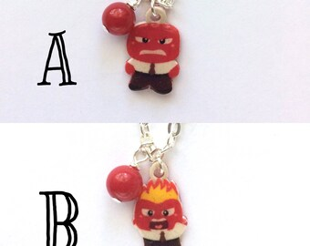 Anger - Inside Out Inspired Necklace