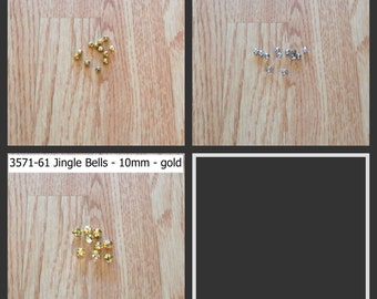 Jingle Bells - assorted sizes - assorted colors - 1 pkg