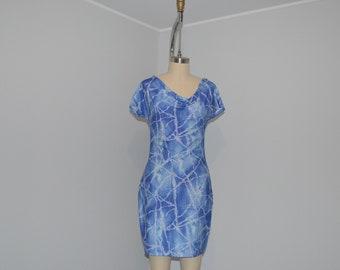 dress - S - draped neckline