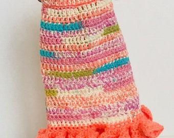 Dog Sweater/Dog hoodie/Dog Apparel/Dog Costume/ Dog/Handmade/Crochet