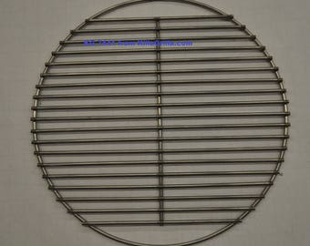 """17"""" Round BBQ Stainless Charcoal Grill Grate- KG 7441  Weber replacement"""