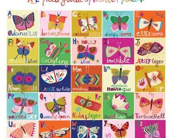 Butterfly Field Guide A-Z