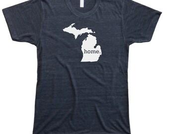 Homeland Tees Men's Michigan Home T-Shirt