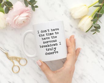Funny Office Mugs - Mug For Office - Office Mugs for Her - Funny Cups and Mugs - Work Mugs