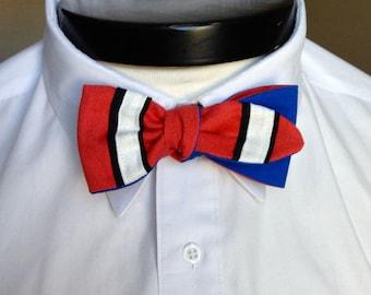 The Luxo - Our Pixar Inspired bowtie in Nemo colors