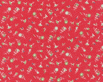 Pedal Pushers - Retro Petunia in Raspberry by Lauren & Jessi Jung for Moda Fabrics - Last Yard