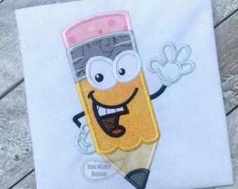 Mr. Pencil applique
