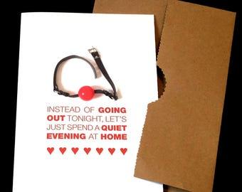 Instant download Valentine. Naughty printable date night card for boyfriend  or girlfriend. Digital download
