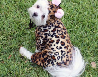 Dog Costume, Halloween costume for dogs, Animal Costumes, Pet Costume, Leopard