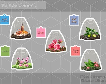 Tea Bag Charms Series 2