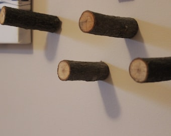Hook made of wood industry