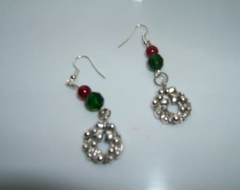 Wreath Earrings