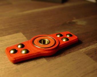 Roller Ball Fidget Bar spinner - Red