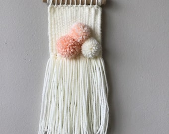 Mini-woven / Wall Decor/ Woven Tapestry/ Woven Wall Hanging