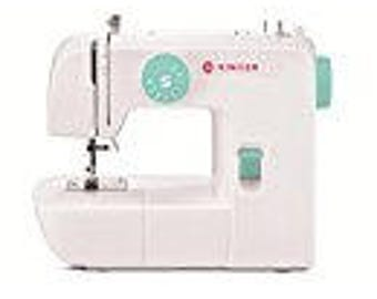 New Best Price!!! SINGER 1234 Portable Sewing Machine with Tote Bag Project, White/Teal FAST SHIPPING!
