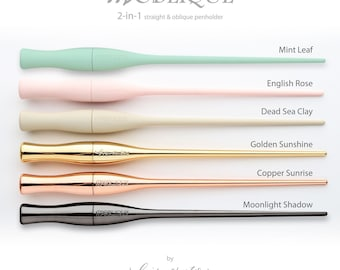 Moblique 2 in 1 Straight and Oblique Penholder by Luis Creations