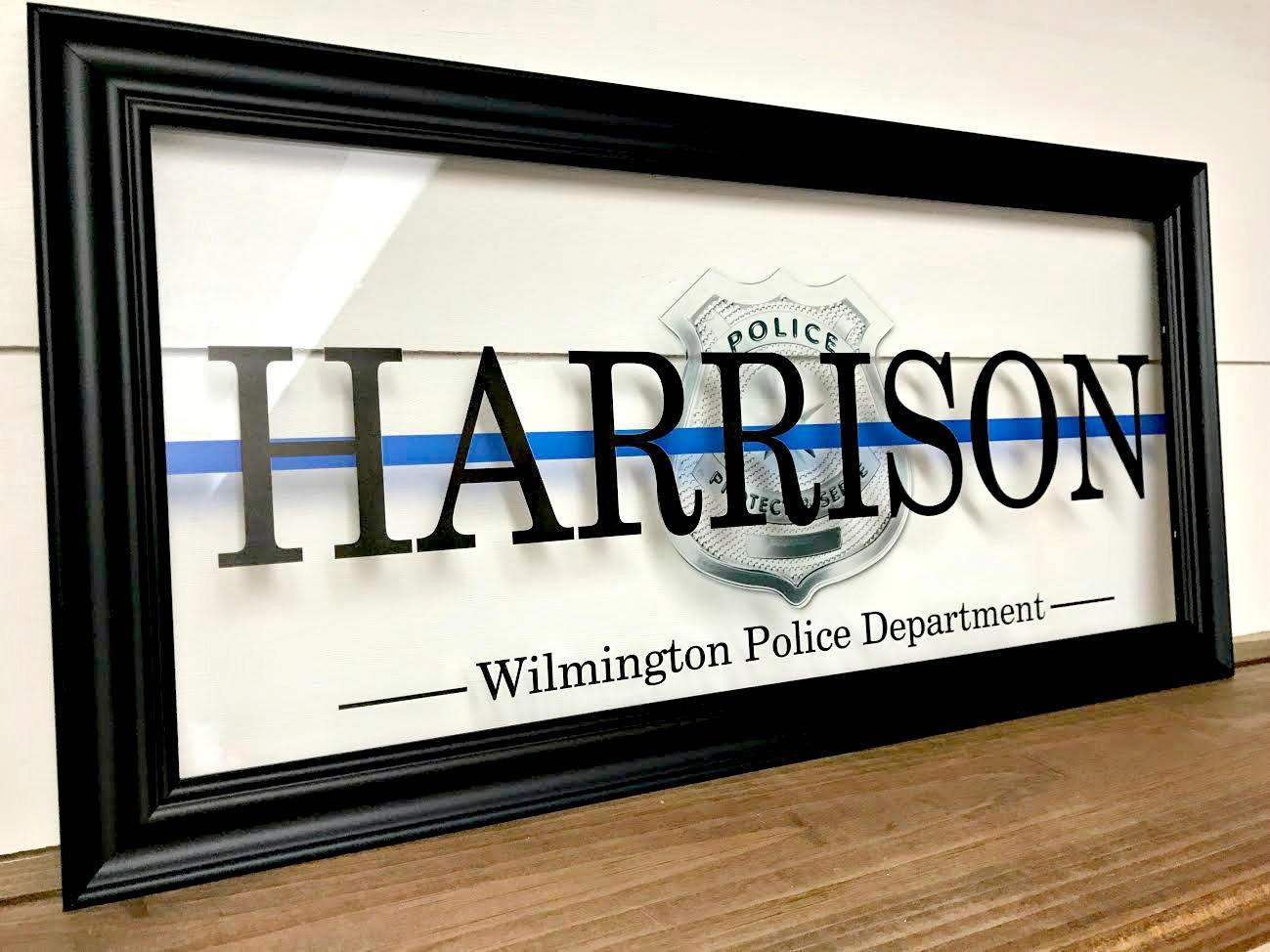 Berühmt Law Enforcement Picture Frames Bilder - Rahmen Ideen ...