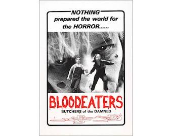 Blood Eaters Movie Poster Print - 1980 - Horror - One (1) Sheet Artwork