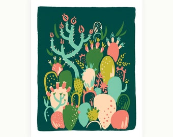 Prickly Pear Art Print