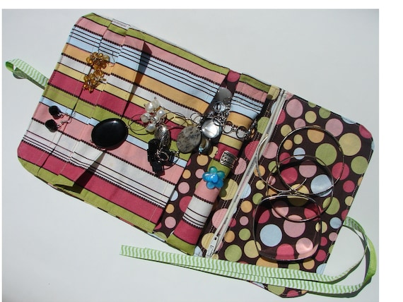 Jewelry Organizer or Travel Case PDF SEWING PATTERN Instant