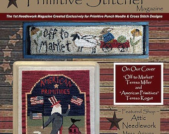 Magazine: 2017 Summer Back Issue - Punch Needle & Primitive Stitcher