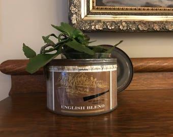 Vintage pipe tobacco tin, yorkshire, premium pipe tobacco,