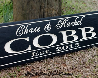 Gift for Husband, Family Name Sign, Gift for Wife, Wedding Gift, Wedding Gift,  Gift for Her, Gift for Men, Gift for bride, Gift for women