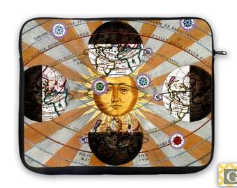 Astrology Cosmology Antique Print iPad Case, Laptop Bag, Laptop Sleeve, Laptop Case, iPad Sleeve, MacBook Case, Tablet Case - Cosmology