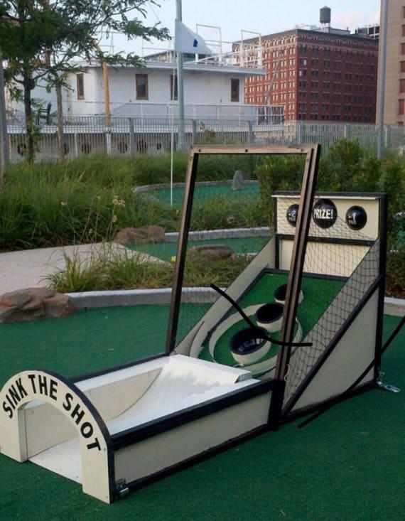 SkeeBall Mini Golf Obstacle