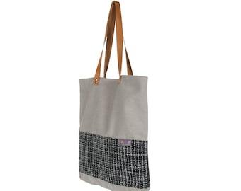 Bag beige & gray to accompany you everywhere!