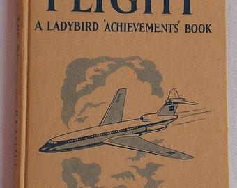 Vintage Childrens Hardback The Story of Flight a Ladybird 'Achievements' Book circa 1960