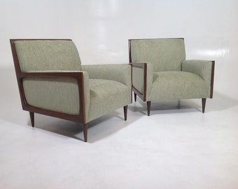Mid century style lounge chairs