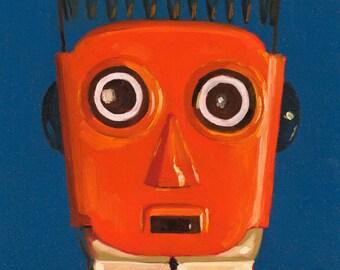 Robot Portrait - Art Print