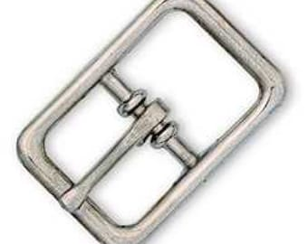 "Center Bar Roller Buckle 5/8"" (1.6 cm) Nickel Plated 1510-00"