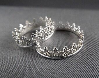 Princess Crown Ring, Tiara Ring, let them eat cake, Valentines Day gift