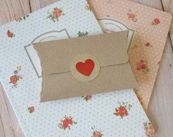 Plain Kraft Brown NO Glue Pillow Boxes