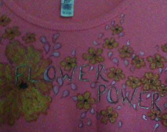 Bright Pink Ladies T-shirt