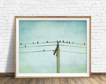 """rustic art, large art, large wall art, instant download, instant download printable art, photography, print, wall art - """"Chatter Current"""""""