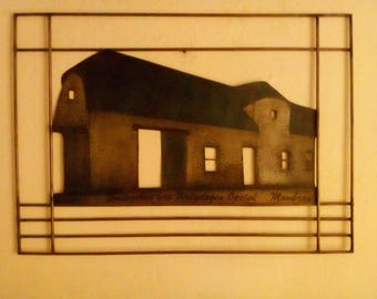 Architectural sheet metal picture