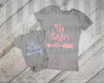 Big Sister Little Brother Sublimation Transfer ST-BSB01