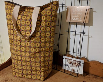 Tote bag lined, size XL