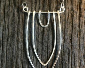 Silver Vagina Necklace