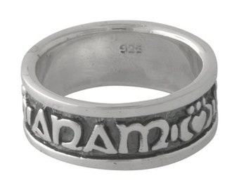 Celtic Anam Cara Claddagh Soul Friend Ring Sterling Silver size 11